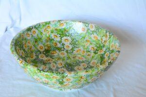 Decoupaged bowls