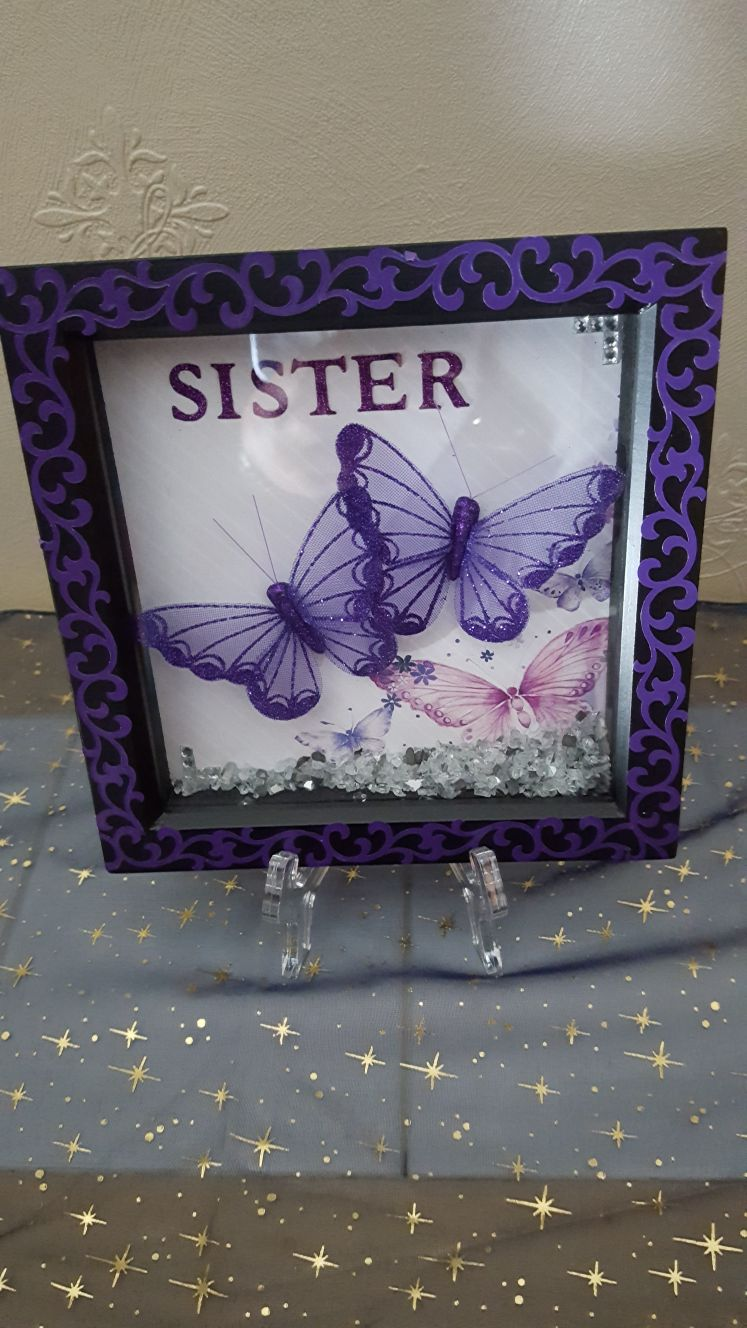 Butterfly card for sister